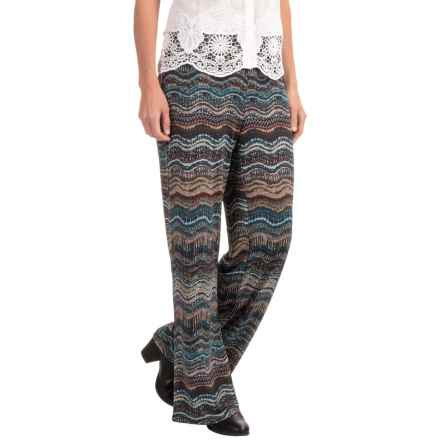 Nomadic Traders Charlie Wide-Leg Pants (For Women) in Jasper Rhythm - Closeouts