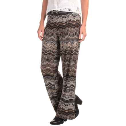 Nomadic Traders Charlie Wide-Leg Pants (For Women) in Tobac Rhythm - Closeouts