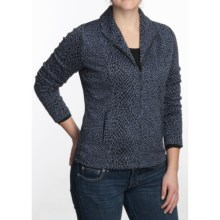 Nomadic Traders City Jacket - Jacquard Knit (For Women) in Midnight Feline - Closeouts