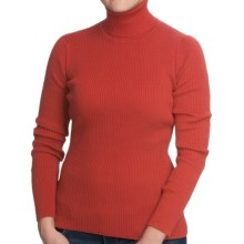 Nomadic Traders Classic Poorboy Turtleneck Sweater (For Women) in Salsa - Closeouts