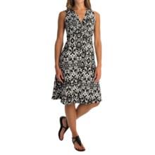 Nomadic Traders Dress Code Alana Dress - Sleeveless (For Women) in Ikat - Overstock