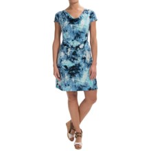 Nomadic Traders Dress Code Marnie Dress - Short Sleeve (For Women) in Atlantis - Closeouts