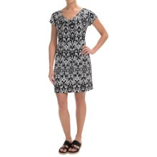 Nomadic Traders Dress Code Marnie Dress - Short Sleeve (For Women) in Ikat - Closeouts