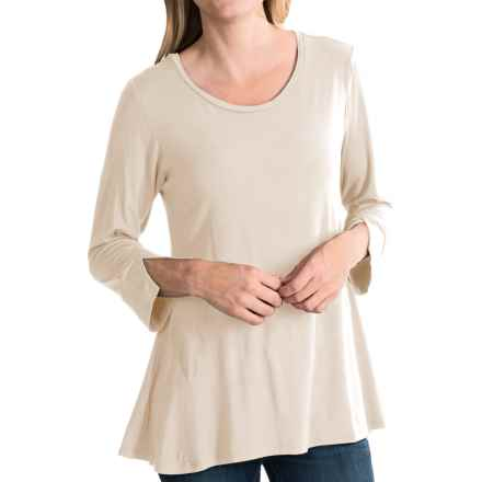 Nomadic Traders Elliptical Shirt - 3/4 Sleeve (For Women) in Bisque - Closeouts