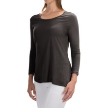 Nomadic Traders Elliptical Shirt - 3/4 Sleeve (For Women) in Black - Closeouts