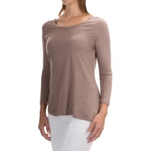 Nomadic Traders Elliptical Shirt - 3/4 Sleeve (For Women) in Taupe - Closeouts
