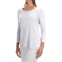 Nomadic Traders Elliptical Shirt - 3/4 Sleeve (For Women) in White - Closeouts