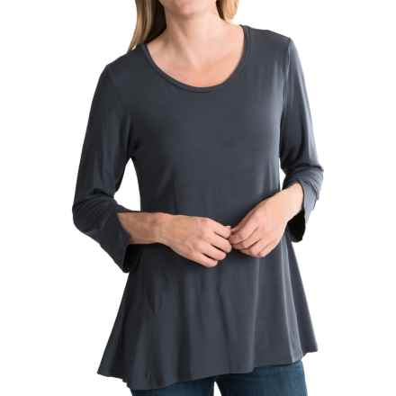 Nomadic Traders Elliptical Shirt - 3/4 Sleeve (For Women) in Zinc - Closeouts