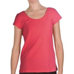Nomadic Traders Garment-Dyed Lulu Shirt - Slub Cotton, Short Sleeve (For Women) in Rosetta