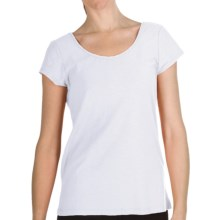 Nomadic Traders Garment-Dyed Lulu Shirt - Slub Cotton, Short Sleeve (For Women) in White - Closeouts