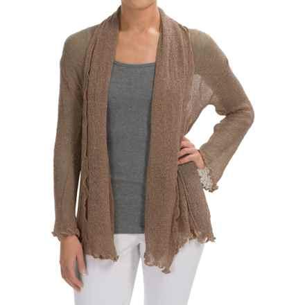 Nomadic Traders Gossamer Long Wrap Cardigan Sweater (For Women) in Latte - Closeouts