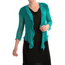 Nomadic Traders Gossamer Wrap Cardigan Sweater (For Women) in Jade - Closeouts