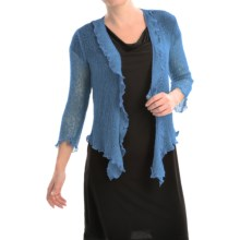Nomadic Traders Gossamer Wrap Cardigan Sweater (For Women) in Mystic Blue - Closeouts