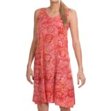 Nomadic Traders Helena Dress - Rayon Batik, Sleeveless (For Women)