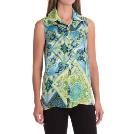 Nomadic Traders Ines Blouse - Sleeveless (For Women) in Medallion - Closeouts