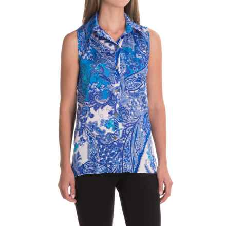 Nomadic Traders Ines Blouse - Sleeveless (For Women) in Paisley - Closeouts