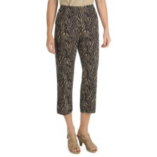 Nomadic Traders Kenya Crop Pants (For Women) in Zebra - Closeouts