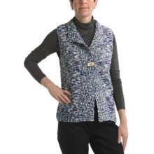 Nomadic Traders Knit Vest - Button (For Women) in Tweed Stonewash - Closeouts