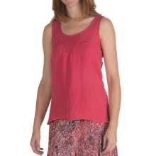 Nomadic Traders Linen-Rayon Pintuck Shell - Sleeveless (For Women) in Rosetta - Closeouts