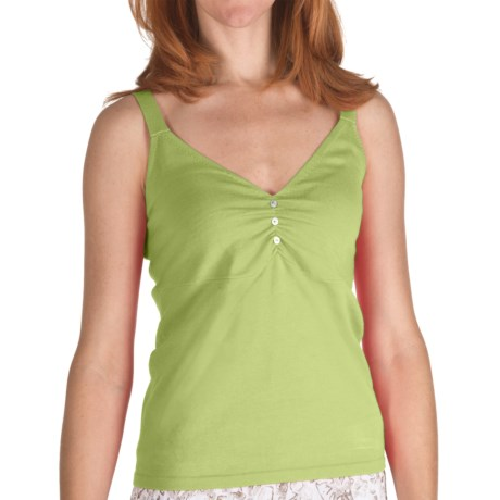 Nomadic Traders Lola Sweater Tank Top - Cotton (For Women) in Midori