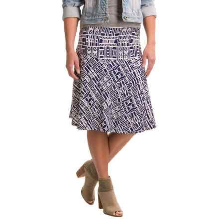 Nomadic Traders Long Weekend Fit-n'-Flare Skirt (For Women) in Athens - Closeouts