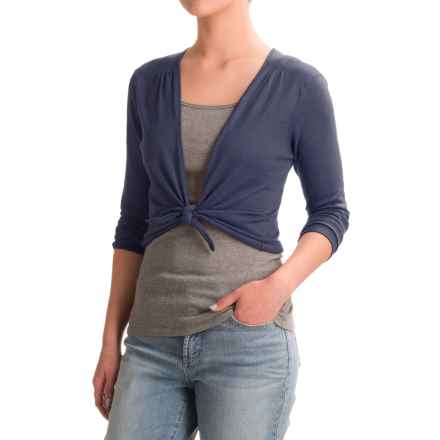Nomadic Traders Long Weekend Island Demi Sweater - 3/4 Sleeve (For Women) in Navy - Closeouts