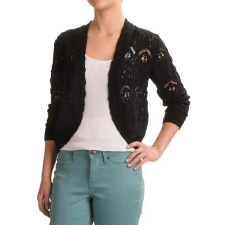 Nomadic Traders Long Weekend Lacy Bolero Sweater (For Women) in Black - Closeouts