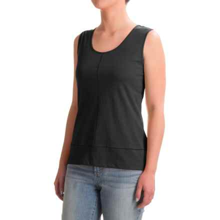 Nomadic Traders Long Weekend Tank Top - Pima Cotton (For Women) in Black - Closeouts