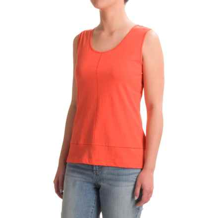 Nomadic Traders Long Weekend Tank Top - Pima Cotton (For Women) in Guava - Closeouts