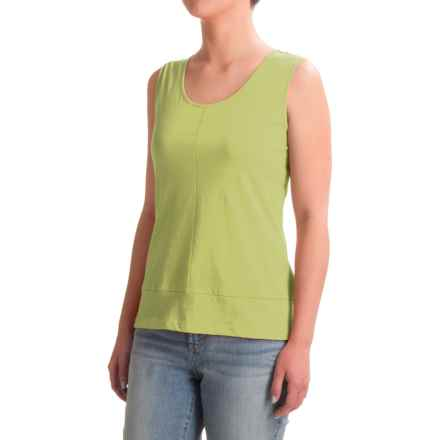 Nomadic Traders Long Weekend Tank Top - Pima Cotton (For Women) in Kiwi - Closeouts