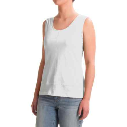 Nomadic Traders Long Weekend Tank Top - Pima Cotton (For Women) in White - Closeouts