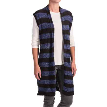 Nomadic Traders Maple & Birth Striped Vest (For Women) in Denim Stripe - Closeouts