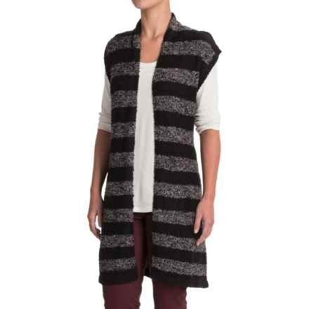 Nomadic Traders Maple & Birth Striped Vest (For Women) in Onyx Stripe - Closeouts