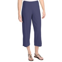Nomadic Traders Marrakesh Crop Pants - Stretch Jersey (For Women) in Navy