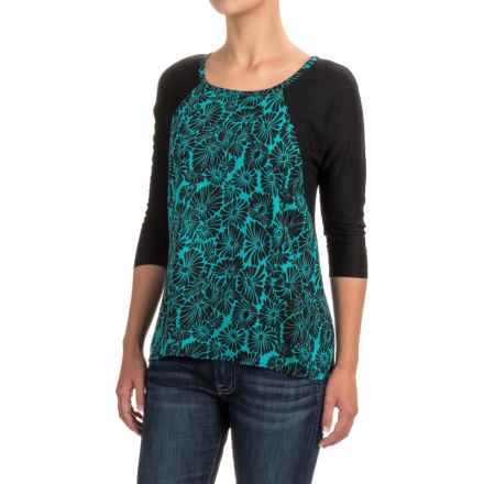Nomadic Traders Melrose Shirt - Rayon, 3/4 Sleeve (For Women) in Kyoto Jade - Closeouts