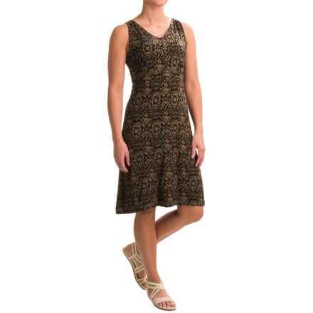 Nomadic Traders Millie Mercury Rising Dress - Sleeveless (For Women) in Java Ikat - Closeouts