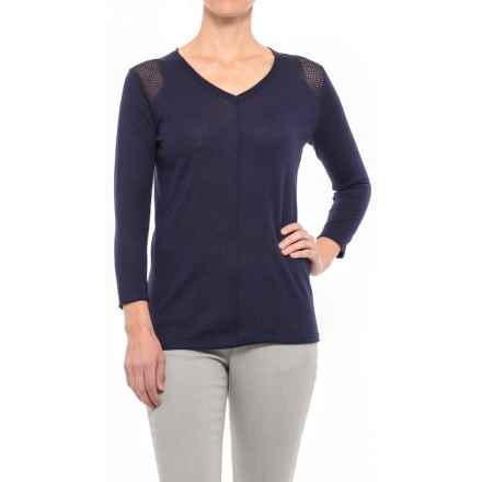 Nomadic Traders Mishi Shirt - 3/4 Sleeve (For Women) in Navy - Closeouts