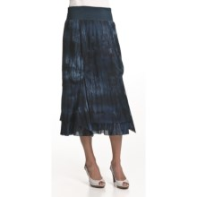 Nomadic Traders Monsoon Handkerchief Skirt (For Women) in Tie Dye Indigo - Closeouts