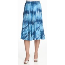 Nomadic Traders Monsoon Pastiche Skirt (For Women) in Tie Dye Aqua - Closeouts