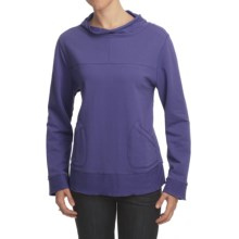 Nomadic Traders Noma Bryn Shirt - French Terry, Long Sleeve (For Women) in Wisteria - Closeouts