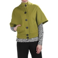 Nomadic Traders Noma Cape - French Terry (For Women) in Citron - Closeouts