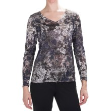 Nomadic Traders Noma Papyrus Print T-Shirt - Long Sleeve (For Women) in Paisley - Closeouts