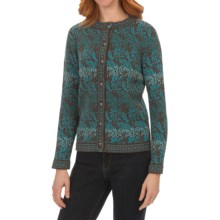 Nomadic Traders North Country Cardigan Sweater (For Women) in Azure - Closeouts