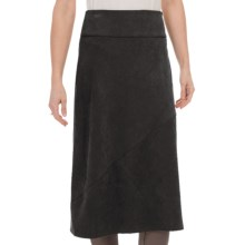 Nomadic Traders Northern Lights Skirt - Microsuede (For Women) in Black - Closeouts