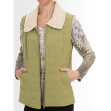 Nomadic Traders Northern Lights Vest (For Women) in Pistachio - Closeouts