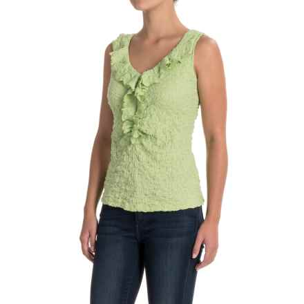 Nomadic Traders NTCO Lily Stretch Lace Tank Top (For Women) in Aloe - Closeouts