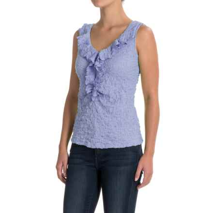 Nomadic Traders NTCO Lily Stretch Lace Tank Top (For Women) in Bluebell - Closeouts