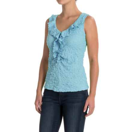 Nomadic Traders NTCO Lily Stretch Lace Tank Top (For Women) in Sky - Closeouts