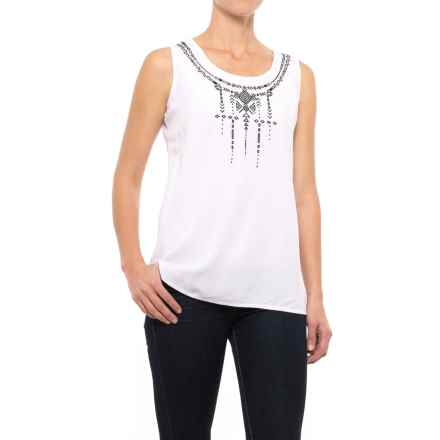 Nomadic Traders NTCO Nuevo Tank Top (For Women) in White/Black - Closeouts
