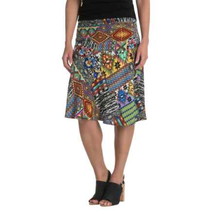 Nomadic Traders NTCO World Market Skirt - Rayon (For Women) in Santa Fe - Closeouts
